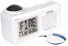 The Lifetone HL™ Bedside Fire Alarm and Clock