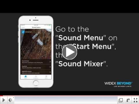 BEYOND App Sound Mixer Program